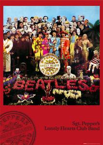 The Beatles Lonley Hearts - Poster 61x91,5 cm