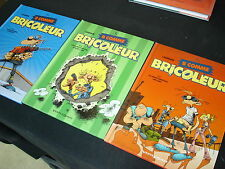 B COMME BRICOLEUR Série complète 3 BD