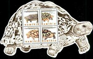 Namibia 2016 Tortoise Animals Fauna Reptiles die-cut Shaped Miniature sheet MNH