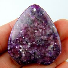 Wholesale Charming Purple Lepidolite Freeform Pendant Bead for DIY Jewelry