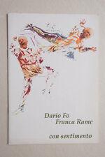 DARIO FO - FRANCA RAME - Con Sentimento