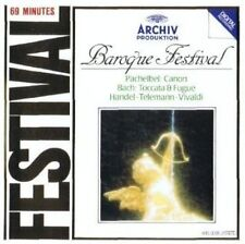 Barock-Festival (Archiv, 1962-84) Pachelbel, Telemann, Bach.. [CD]