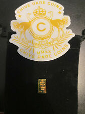 """Chive Gold Coin Letter """"L"""""""