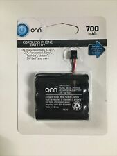 Onn Cordless Phone Battery 3.6V 700mAh  ATT GE SONY Uniden Toshiba Panasonic New