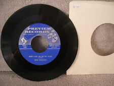 """Gene Marshall, Don't Step On Me No More/Baby I'm In Love With You-2735-7"""" 45 RPM"""
