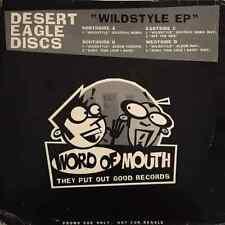 "Desert Eagle Discs-Wildstyle EP (12"") (promo) (G-VG/G)"