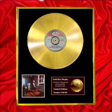 RUSH POWER WINDOWS CD  GOLD DISC VINYL RECORD AWARD DISPLAY LP
