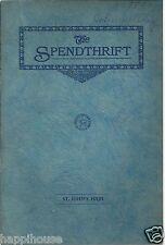 1930 St John's High School Toledo OH Brewster's Millions Play Program / Photos