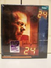 24 - Jack Bauer Television Series 300 pc puzzle by Buffalo Games NEW SEALED