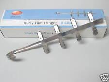 NEW DENTAL X-RAY FILM HANGER 8 CLIPS FOR XRAY HOLD FILM DURING DEVELOPMENT