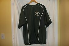 Nike Fit-dri mens medium gray 1/2 sleeve pullover Bowdoin Football