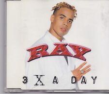 Ray-3 X A Day cd maxi single eurodance holland