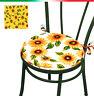 CUSCINO coprisedia ROTONDO cuscini sedie girasoli cucina sedie laccetti casa