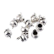 10pcs 8*9mm DIY Witches Cauldron Beads Charms Tibetan Silver Pendant Bracelet