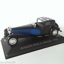 IXO diecast car 1:43 BUGATTI Type 41 Royale 1929 UK - CCC017
