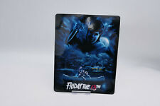 Friday the 13th Part 1 - Glossy Bluray Steelbook Magnet Cover NOT LENTICULAR