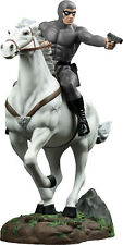 "THE PHANTOM - 13"" Phantom in Grey Suit on Horse ""Hero"" Exclusive Statue (Ikon)"