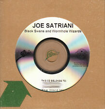 JOE SATRIANI Black Swans And Wormhole Wizards UK 11-trk numbered promo test CD