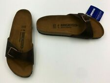 Birkenstock Women's Madrid Leather Sandal Habana Size 6.5 EUR 37 New
