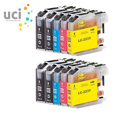 10 Ink Cartridge fits Brother LC223 MFC-J5625DW J5720DW DCP-J4120DW J680DW