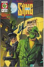 THE GREEN HORNET SIGNED ISSUE 1 COMIC BOOK VAN WILLIAMS AUTOGRAPH THE STING