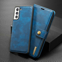 Flip Wallet Leather 2in1 Magnetic Case Cover For Samsung Galaxy S21 S21+ Ultra