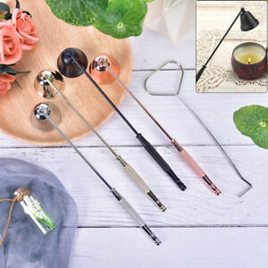 Bell shape candle snuffer stainless steel home banquet candle extinguisher FH