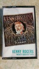 Kenny Rogers 20 Twenty Greatest Hits Cassette