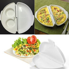 New Microwave Egg Poacher Omelet Maker Poach Cooking Cooker Useful Kitchen Tool