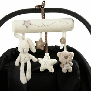 Bunny Baby Infant Activity Musical Toy Rattle Crib Stroller Pram Car Seat Newest