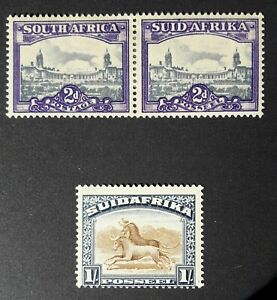 SOUTH AFRICA 1930-1950 MOSTLY USED SOME HIGH VALUES ALL NICE CONDITION. 12 PICS