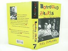Borrowed Hearts : New and Selected Stories by Rick DeMarinis VG 'SIGNED'