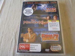 The One / The Medallion / Kung Fu Hustle (3x DVD, 2008) Region 4