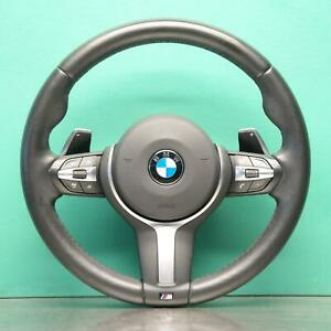 BMW 3 SERIES STEERING WHEEL #E5559 F30 (404) *32-35* M with paddles