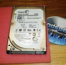 Dell Latitude D830 500GB Solid State Hybrid Drive SSHD Windows XP Media Center