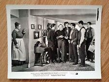 HOW GREEN WAS MY VALLEY  rare US b/w still#1 JOHN FORD 1941 Maureen O'Hara
