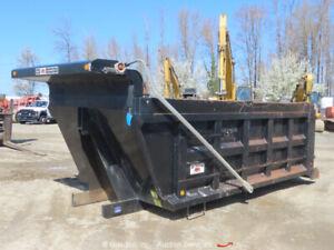 2015 Ox-Bodies 16' 17-18YD Steel Dump Body 18Yard Dump Box Tank Cylinder bidadoo