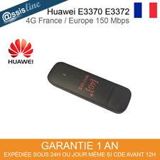 Huawei E3372 4G Clé (Orange) - Noir