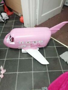 Barbie Huge Pink Dream Aeroplane With Accessories