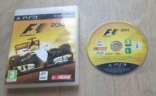 F1 Formula 1 2014 Sony Playstation 3 PS3 - Sans Notice - PAL FRA - Très Bon Etat