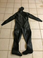 Viking Vulcanized Rubber Drysuit Pro 1000 Size 2W (Large / Wide) - Sweden - Good