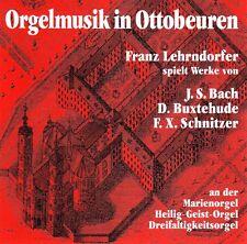 Franz Lehrndorfer - Orgelmusik in Ottobeuren CD