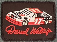Darrell Waltrip Vintage Nascar Racing Shirt Hat Iron Patch Western Auto Retro