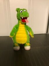 """1995 THE ADVENTURES OF DUDLEY the DRAGON 10"""" Plush Vintage"""