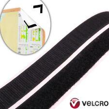 Velcro ® marca Puntini 22mm nero autoadesivo appiccicoso MONETE Hook Loop 50 50