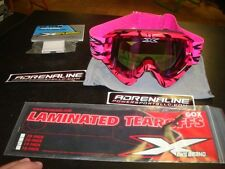 EKS X  Brand GOX Scatter Pink Includes Lamanated Tearoffs & Tearoff Ramp Garage