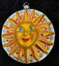 Christopher Radko Sun and Moon Ornament pre-owned in great condition