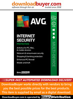 AVG Internet Security 2021 - 3 Devices - 2 Years [Download]