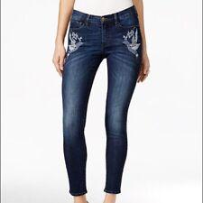 Buffalo David Bitton Faith Embroidered Skinny Jean Size 27