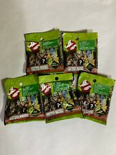 (5x) factory sealed  GHOSTBUSTERS 2016 Ecto Minis Mystery Mini Blind bags